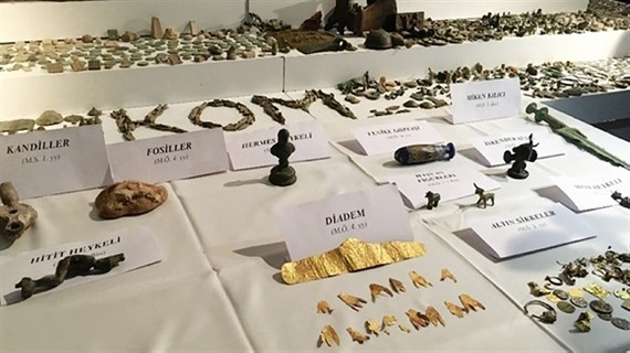 Thổ Nhĩ Kỳ thu giữ hơn 26.000 cổ vật