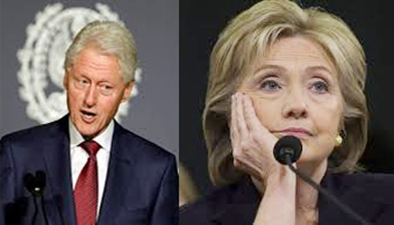 Vợ chồng cựu Tổng thống Mỹ Bill Clinton