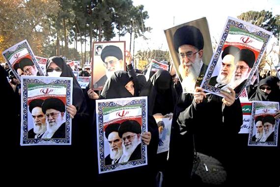 Biểu tình ôn hòa ủng hộ Chính phủ Iran