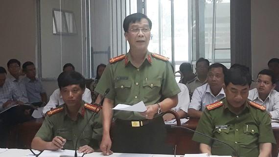 Đại tá Lý Quang Dũng thông tin về vụ nổ súng ở Biên Hòa