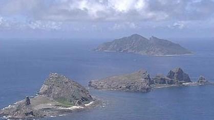Quần đảo tranh chấp mà Nhật Bản gọi là Senkaku (Trung Quốc gọi là Điếu Ngư)