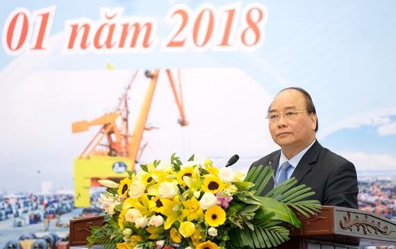 Thủ tướng phát biểu tại Hội nghị - Ảnh: VGP/Quang Hiếu