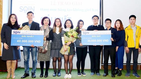 Các dự án đoạt giải cuộc thi SOIN Challenge 2017