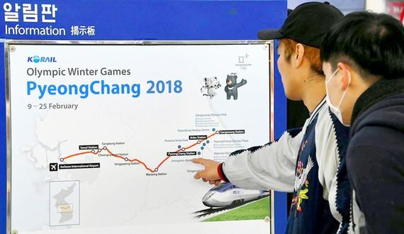 Olympic mùa Đông PyeongChang 2018 đã sẵn sàng