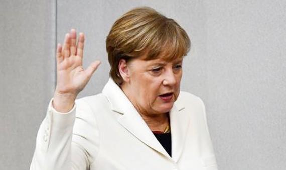 Thủ tướng Đức Merkel tuyên thệ nhậm chức