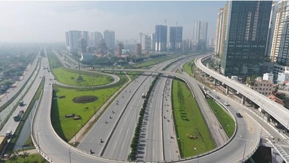 Cơ sở hạ tầng khu Đông. Hình: Internet