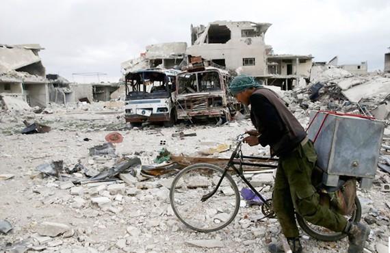 Chiến sự tàn phá Đông Ghouta