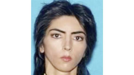 Nasim Aghdam, nghi phạm nổ súng tại trụ sở YouTube ở TP San Bruno, quận Mateo, bang California, Mỹ, ngày 3-4-2018. Ảnh do Cảnh sát San Bruno công bố
