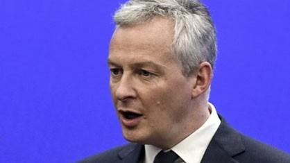 Bộ trưởng Kinh tế Pháp Bruno Le Maire. Nguồn: TTXVN