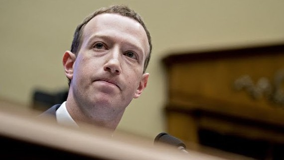 Ông chủ tập đoàn Facebook Mark Zuckerberg