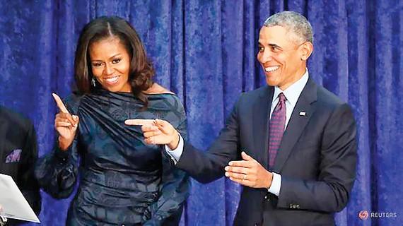 Cựu Tổng thống Obama sản xuất phim truyền hình