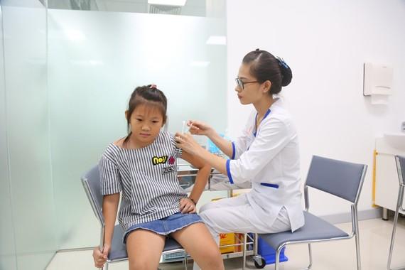 Tiêm ngừa cho trẻ tại VNVC Đồng Nai