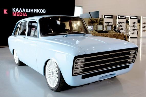 Kalashnikov sản xuất ô tô chạy điện