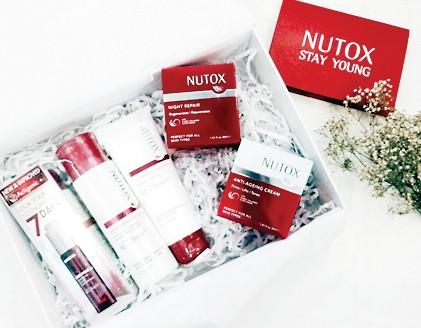 Nutox chăm sóc và chống lão hóa da đã đến Việt Nam