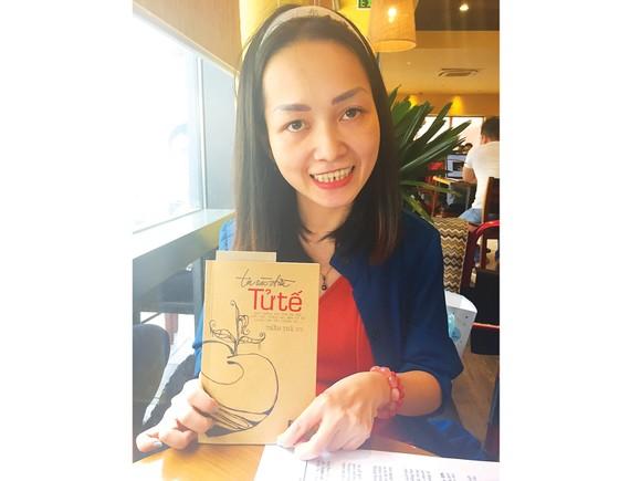 Nhà văn trẻ Trần Trà My và cuốn sách mới ra mắt của mình