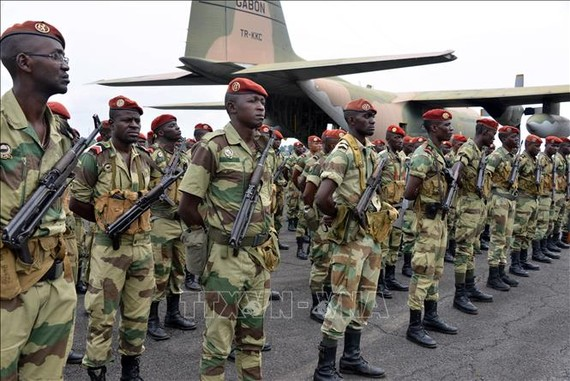Đảo chính quân sự tại Gabon
