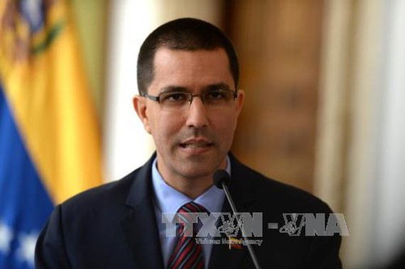 Bộ trưởng Ngoại giao Venezuela Jorge Arreaza.