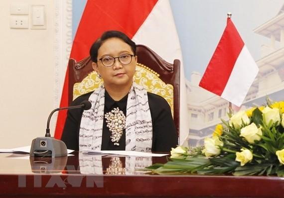 Ngoại trưởng Indonesia Retno Marsudi.