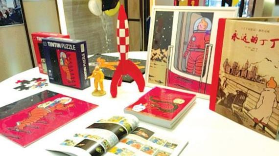 Tintin đến Thượng Hải