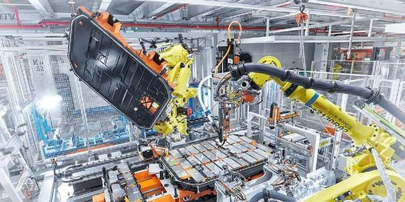 Volkswagen lập liên minh sản xuất pin ô tô điện