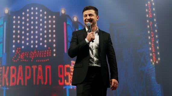 Ứng cử viên Volodymyr Zelenskiy. Ảnh: Sputinik