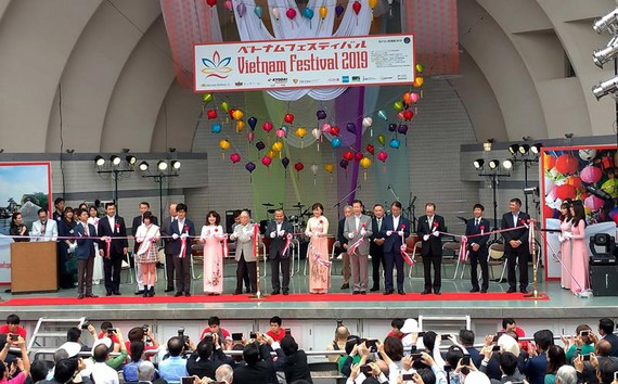 Đầu tháng 6-2019, Lễ hội Việt Nam tại Nhật Bản được tổ chức tại Tokyo