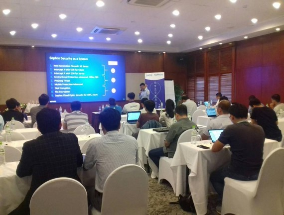 Hội thảo Sophos Security as a System vừa tổ chức tại TPHCM