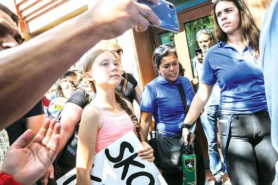 Thiếu niên Mỹ nỗ lực chống biến đổi khí hậu