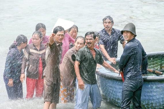 Phim Đảo khát được quay trong bối cảnh khó khăn, gian khổ