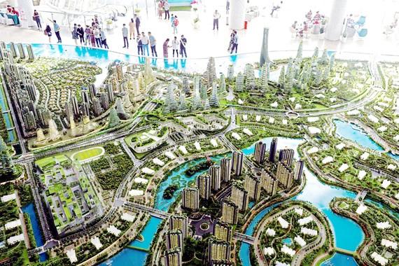Forest City -  được tiếp thị là một thành phố mang tính biểu tượng như Singapore - khá đắt đỏ so với người dân Malaysia