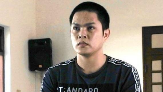 Bị cáo Trần Anh Ngọc tại phiên tòa