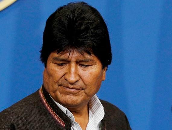 Cựu Tổng thống Bolivia Evo Morales