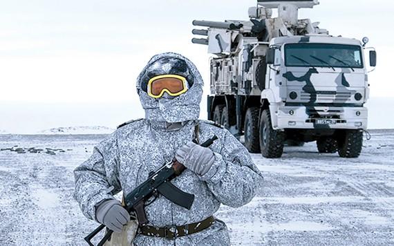 Lực lượng của Nga tăng cường hiện diện tại Bắc cực. Ảnh: AP