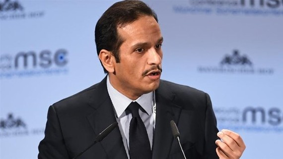 Ngoại trưởng Qatar Mohammed bin Abdulrahman al-Thani. Ảnh: Reuters