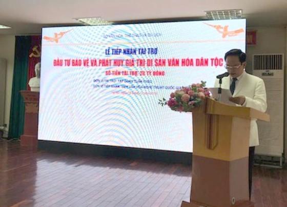 Ông Đào Hồng Tuyển chung tay bảo vệ, phát huy di sản văn hóa dân tộc