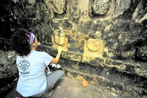 Cung điện 1.000 năm tuổi của người Maya ở Mexico