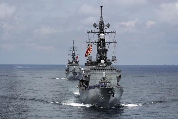 Nhật Bản đưa khu trục hạm tới Trung Đông