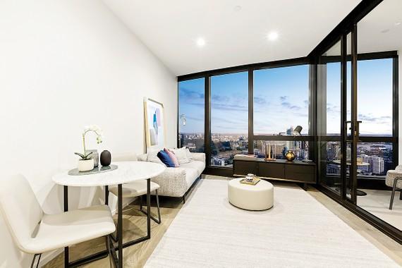 Căn hộ thực tế tại tầng 39 dự án Australia 108