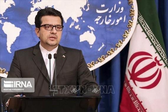 Người phát ngôn Bộ Ngoại giao Iran Abbas Mousavi. Ảnh: IRNA/TTXVN