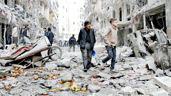 Cuộc chiến ở Syria vẫn là một vết nhơ trong nỗ lực xây dựng một thế giới hòa bình