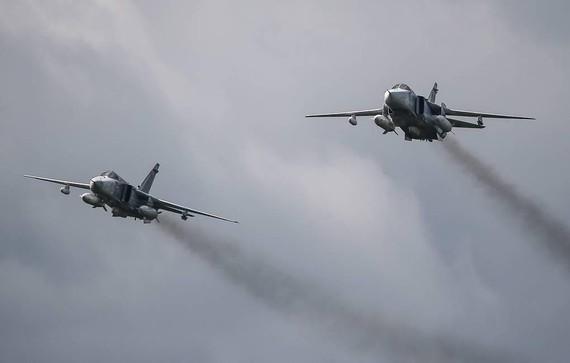 Máy bay ném bom Su-24 của Nga