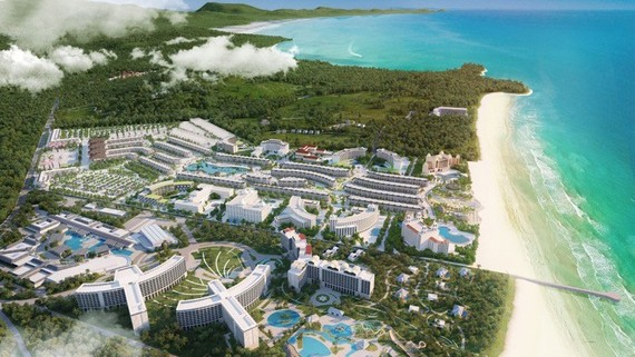 Phú Quốc đang thu hút hàng trăm dự án quy mô lớn tạo nên dáng dấp của một điểm đến đẳng cấp quốc tế, trong đó có siêu tổ hợp Grand World 85ha, dự kiến đi vào vận hành trong quý IV/2020
