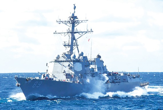 Tàu USS Mustin (DDG 89) của Mỹ