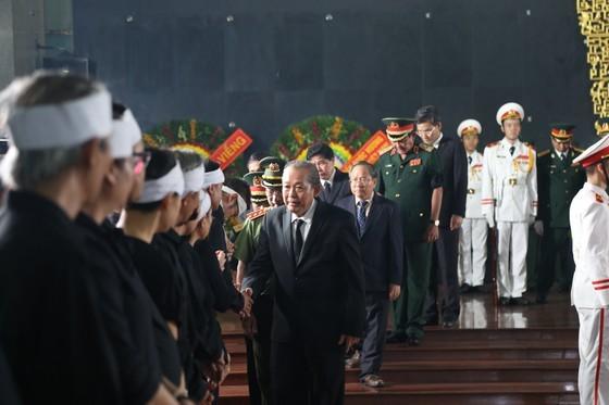 Phó Thủ tướng Thường trực Trương Hòa Bình chia buồn cùng gia quyến đồng chí Trần Quốc Hương