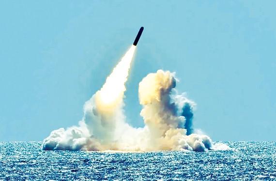 Một vụ thử tên lửa của Mỹ