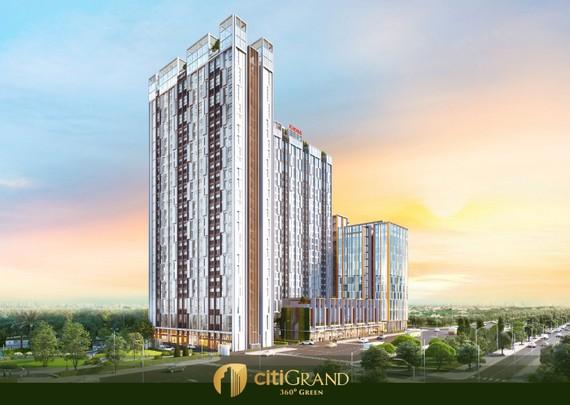 CITIGRAND, một phiên bản mang tính đột phá trong thiết kế kiến trúc và tiện ích ấn tượng