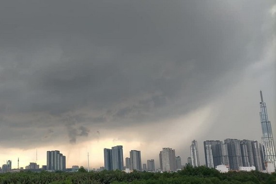 Khi La Nina xuất hiện thì mùa Đông rất lạnh, mưa gió cuối năm nhiều hơn. Ảnh: N.Q.Anh