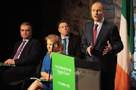 Thủ tướng Ireland Micheal Martin. Ảnh: AFP/TTXVN