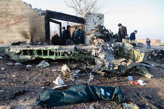 Máy bay Boeing của Ukraine bị lực lượng vũ trang Iran bắn nhầm