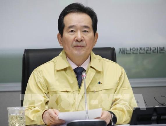 Thủ tướng Chung Sye-kyun. Ảnh: Yonhap/TTXVN